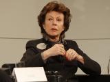 Neelie Kroes stopt als Eurocommissaris